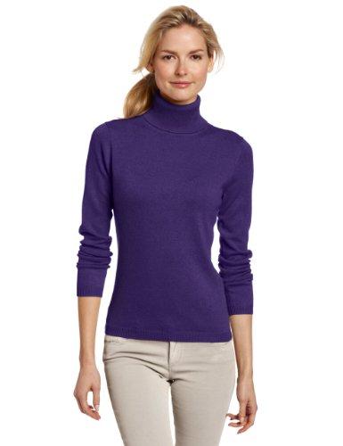 Sofie 索菲亚女士100%羊绒经典高领羊绒衫 Amazon售价$81.75