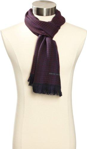 Hugo Boss 意大利产男士纯羊毛围巾 叠加8折卷后售价$59.8