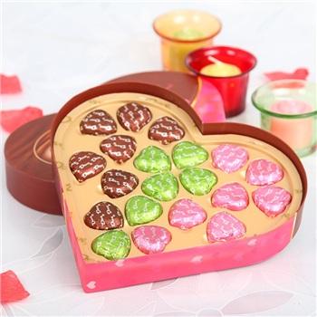 国内优惠:德芙心语混装巧克力礼盒109g*2=¥39