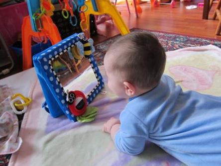 Sassy Crib and Floor Mirror 安全玩具镜子$9 _妈妈买、妈妈败败,一个有 ...