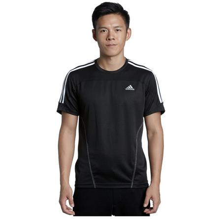 国内优惠:adidas阿迪达斯 专业跑步系列 男士短袖T恤¥99