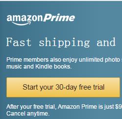 美国亚马逊 Amazon Prime 会员服务计划 试用、取消以及退款完全攻略