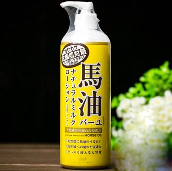 亚马逊日本:LOSHI北海道马油 保湿身体乳液485ml装 546日元,
