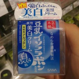 亚马逊日本:补水祛斑本土版,SANA豆乳系列 极白美白保湿面霜50g装 832日元,