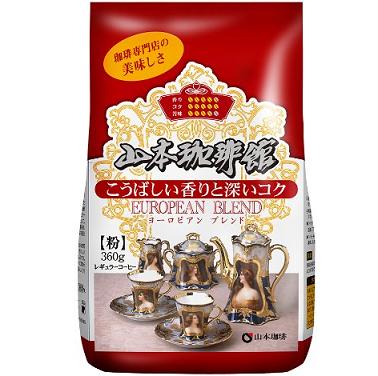 亚马逊日本:山本咖啡 黑咖啡粉360g装 670日元,
