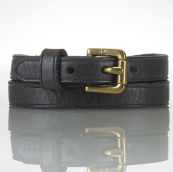 RALPH LAUREN美国官网:Leather Wrist Strap 真皮男式腰带$22.99,