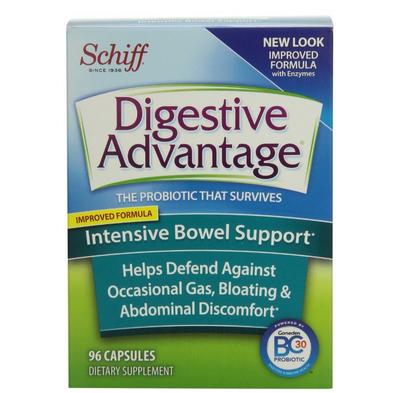 历史新低价!!Digestive Advantage 强化肠道消化益生菌胶囊96粒$20.99,