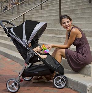 小贵5刀,继续好价,Baby Jogger City Lite Stroller 城市版 可折叠婴童手推车$149.94,