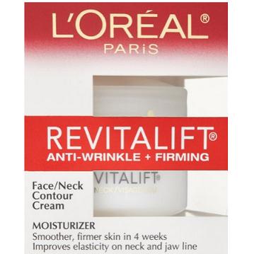再次回归历史低价,LOreal Paris 复颜抗皱紧致系列 复颜脸颈素颜霜48g装$6.86,