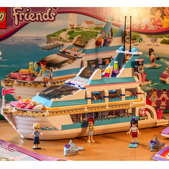 LEGO 41015 女孩系列  海豚号游艇$55.99,