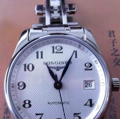 亚马逊中国:经典百搭款,Longines 浪琴 L2.518.4.78.6 名匠系列机械男士手表¥10299包邮