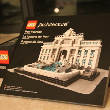 LEGO 21020 乐高建筑系列 罗马许愿池(特莱维喷泉)$34.1,