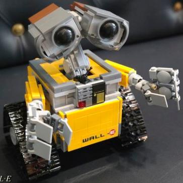瓦力再次补货,LEGO Ideas WALL E 21303 乐高瓦力机器人$59.77,