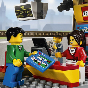 LEGO City 60050 城市组火车站$40.98,