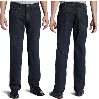 Lee牌 Premium Select 系列 经典版型 男式直筒牛仔裤$24.94,