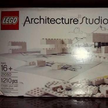 LEGO 21050 乐高建筑系列 建筑工作室$121.01,