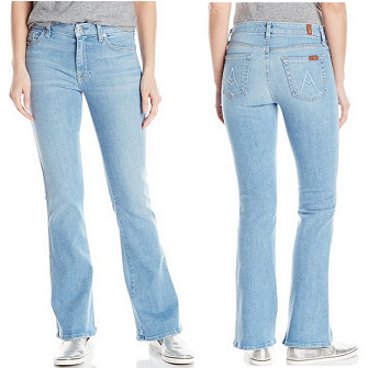 7 For All Mankind 女式牛仔裤$37.25,