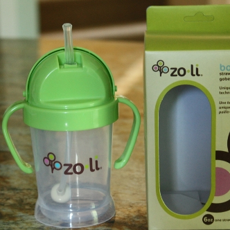 Zoli BOT 重力球吸管杯/儿童学饮杯$11.99,