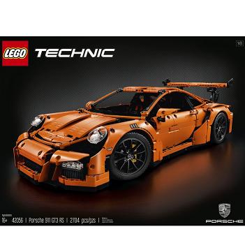 高大上的代表作,LEGO TECHNIC 保时捷911 GT3 RS $299.99,