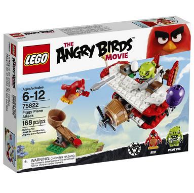 历史新低价!!LEGO Angry Birds 75822 猪星袭击$14,