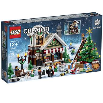 历史新低价!!LEGO Creator Expert 10249  冬日玩具店$59.99,