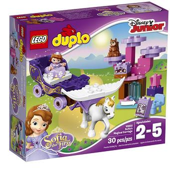 LEGO DUPLO Disney 10822 小公主苏菲亚的第一辆魔法马车$23.99,
