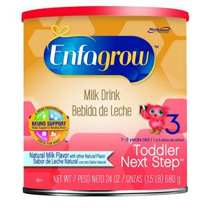 Enfagrow Next Step 美赞臣金樽系列 3阶段婴儿配方奶粉680g*4罐$62.92,