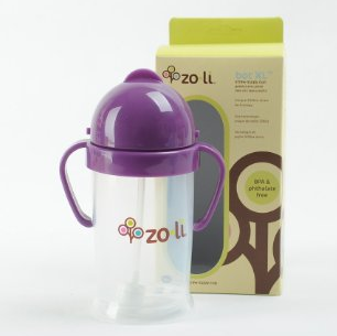 ZoLi BOT 重力球吸管杯/儿童学饮杯$11.97,
