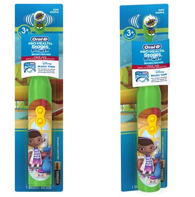 历史新低价!!Oral-B Pro-Health Stages 玩具小医生图案 欧乐B儿童电动牙刷$3.82,