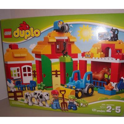 LEGO 10525 DUPLO 乐高得宝主题系列 大型农场$45.99,