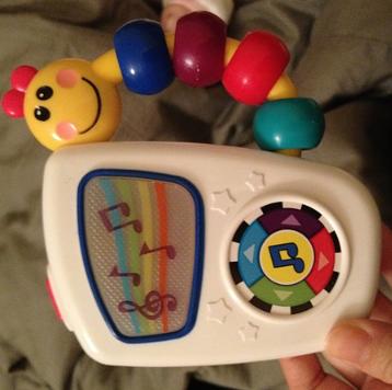 美亚销量第一,Baby Einstein 宝宝爱因斯坦 音乐随身听玩具$5.99,