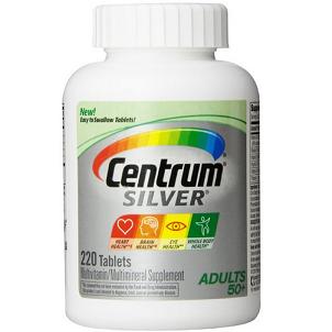 Centrum Adult Multivitamin/Multimineral 善存成人基础配方 综合维生素200粒$9.99,