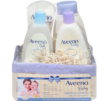 历史新低价!!Aveeno Baby Daily Bathtime 洗护4件套$14.69,