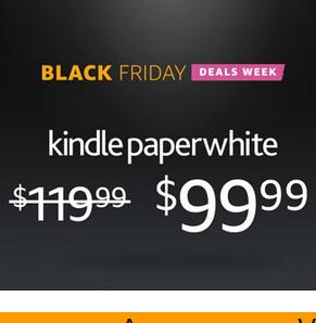 黑五看书也疯狂,美国亚马逊 Kindle入门版、Kindle Paperwhite 3、Voyage 电子书全线特价沦陷