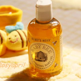 历史新低价!!Burts Bees小蜜蜂 宝宝系列 滋润沐浴油180ml*3瓶$19.75,