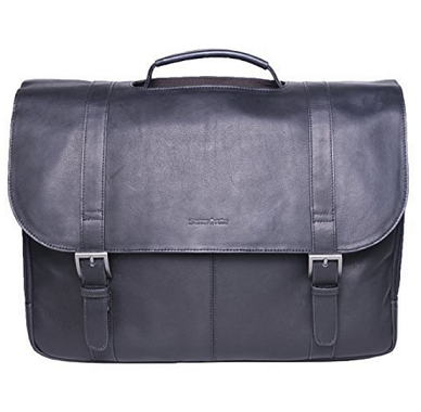 中亚海外购:Samsonite Colombian 17寸复古公文包¥590.49,