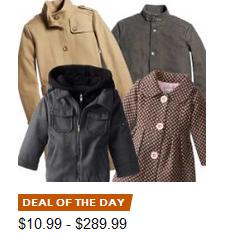 美亚金盒特价!!男女儿童 棉服羊毛大衣 低至3折,