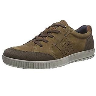 历史新低价!!ECCO Ennio 爱步 恩尼奥系列 男式休闲鞋$74.99,