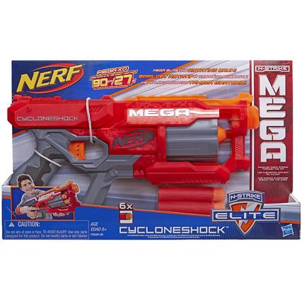 中亚海外购:Nerf N-Strike Elite 精英系列 大口径玩具手枪¥80.5,