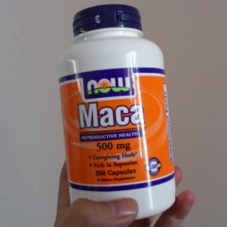 NOW Foods Maca 玛咖强身健体片500mg 100粒$4.31,