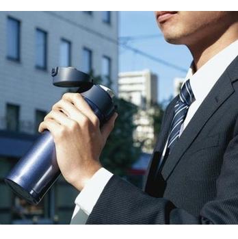 Zojirushi SM-KHE48AG 象印SLiT超轻巧系列 不锈钢保温杯473ml $24.99,