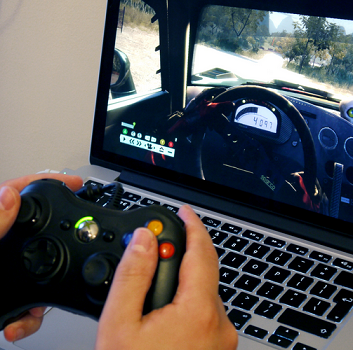 Microsoft Xbox 360 Windows专用版 无线游戏手柄$29.99,