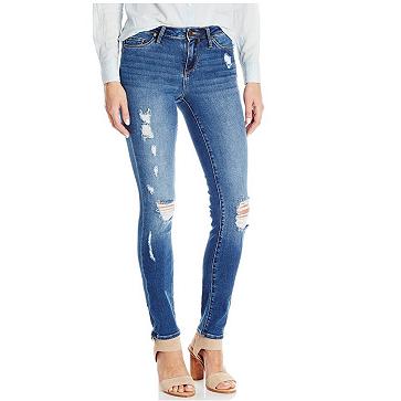 历史新低价!!Calvin Klein Jeans Ultimate Skinny 女式紧身牛仔裤$22.82,