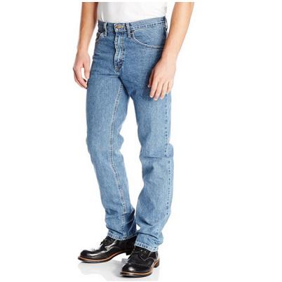 历史新低价!! Lee Regular-Fit 标准版型 男式直筒牛仔裤$22.49 ,