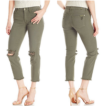 中亚海外购:7 For All Mankind 女式7分牛仔裤¥206.92,
