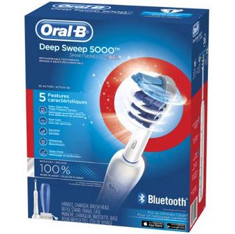 美亚金盒特价!!Oral-B Pro 5000 博朗次旗舰级电动牙刷$63.99,