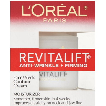 LOreal Paris Advanced RevitaLift Face and Neck 复颜抗皱紧致系列 复颜脸颈素颜霜48g $7.02,