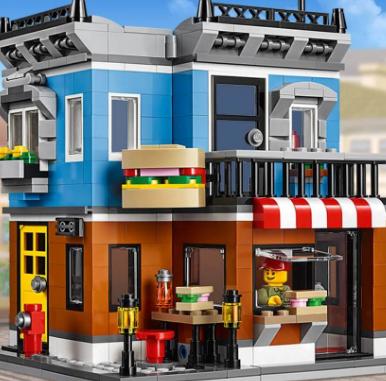 亚马逊中国:比海淘便宜,LEGO 31050 乐高创意百变组 街角三明治店¥288包邮
