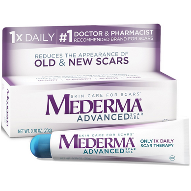 历史新低价!!Mederma Advanced Scar Gel 美德特效除疤痕凝胶20g $9.17,