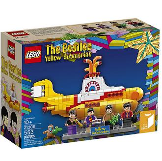 历史新低价!!LEGO Ideas 21306 乐高黄色潜水艇$59.99,